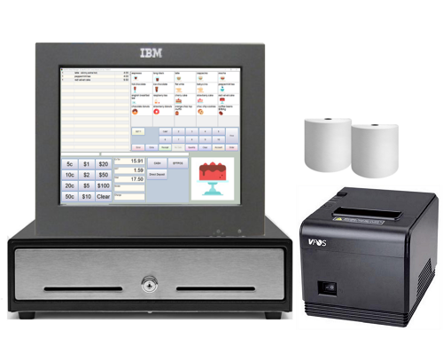 NeoPOS Budget Retail and Hospitality Manager POS Hardware Bundle #1 - Easypos Point of Sale Systems