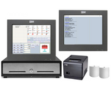 NeoPOS Budget Hospitality POS Hardware with Kitchen Display Screen Bundle #3 - Easypos Point of Sale Systems