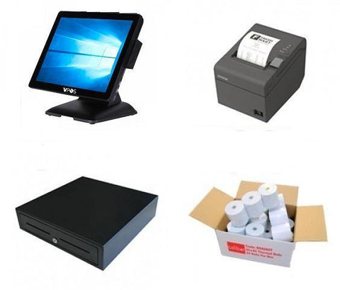 NeoPOS Retail and Hospitality Manager POS Hardware Bundle #12 - EasyPOS