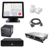 NeoPOS Retail POS System with the T9 All in One POS Terminal & Integrated Scale Bundle #NIS31
