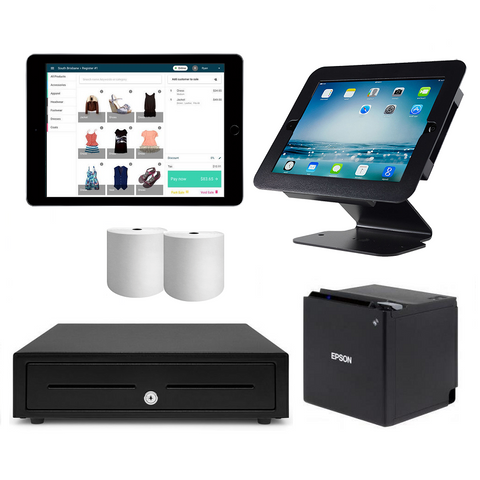 Neto Bluetooth iPad POS Hardware with Nexa iPad Stand Bundle #6 - Easypos Point of Sale Systems