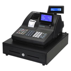 SAM4S NR-520 Cash Register 2-Station Thermal Raised Keyboard - Easypos Point of Sale Systems