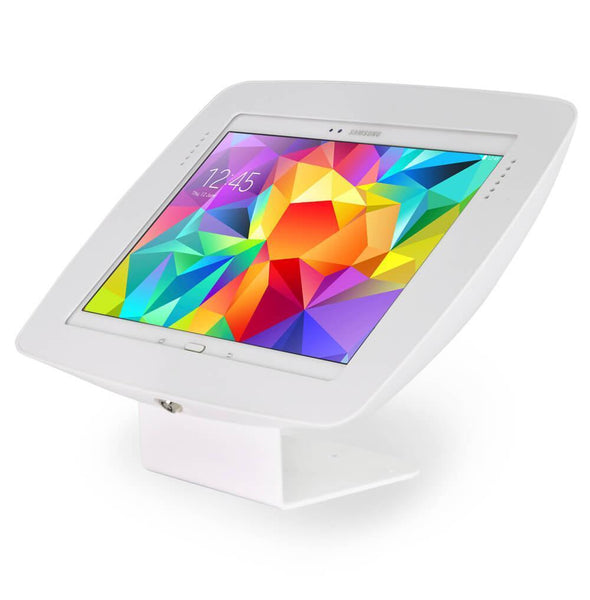 "BOSS-TAB Fixed Mount Samsung Galaxy Tab 9.7"" Enclosure Stand White"