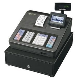 Sharp XEA207B Cash Register with Raised Keyboard Black - EasyPOS
