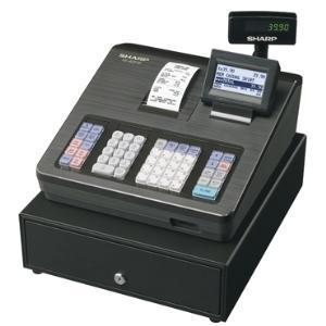 Sharp XEA207B Cash Register with Raised Keyboard Black - Easypos Point of Sale Systems