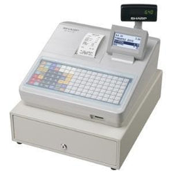 Sharp XEA217W Cash Register with Flat Keyboard White - EasyPOS