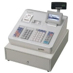 Sharp XEA307 Electronic Cash Register/ Raised Keyboard/ White - EasyPOS