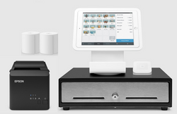 Square POS Hardware with Square Stand, Cash Drawer and USB Printer Bundle S22