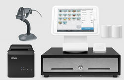 Square Stand Kit with Square Stand, Cash Drawer, USB Printer and Barcode Scanner Bundle S23