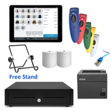 "Square POS System with the Apple iPad 9.7"" & SocketScan S700 Bundle #15 - EasyPOS"