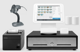 Square Stand Retail POS System for iPad with the Zebra LS2208 Barcode Scanner Bundle #18 - Easypos Point of Sale Systems