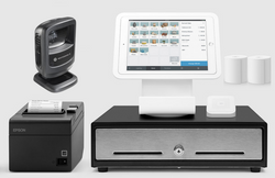 Square Stand Retail POS System for iPad with the Zebra DS9208 Barcode Scanner Bundle #19 - Easypos Point of Sale Systems