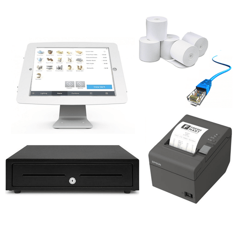 Square POS Hardware - iPad Compatible Bundle #8 - Easypos Point of Sale Systems
