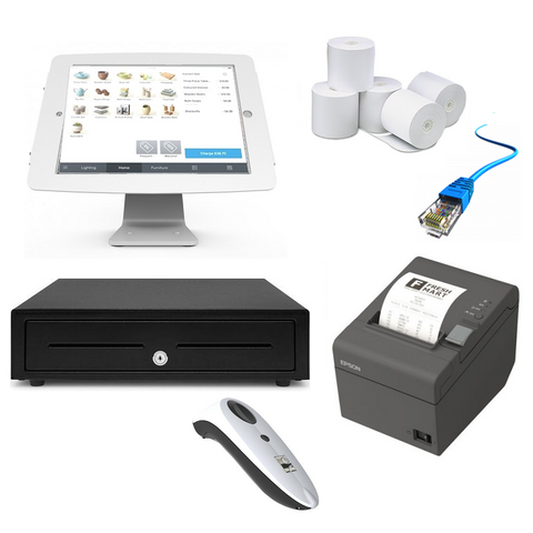 Square POS Hardware - iPad Compatible Bundle #9 - Easypos Point of Sale Systems