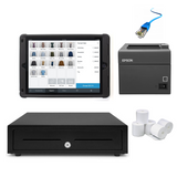 Square POS Hardware with Kensington Rugged Case Stand - iPad Compatible Bundle #10 - EasyPOS