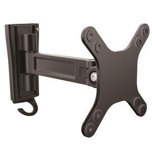 Startech Wall Mount Monitor Arm - Single Swivel - For VESA Mount Monitors and Flat-Screen TVs up to 27in (33lb /15kg) - Monitor Wall Mount with 7.7 (195 mm) Arm Extension / Monitor Mount - Easypos Point of Sale Systems