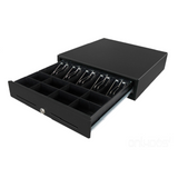 Square Cash Drawer - VPOS EC410 5N 8C 24V Black - Easypos Point of Sale Systems