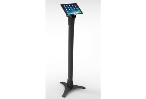 Compulocks Secure Universal Cling Mount & Adjustable Floor Stand for Tablets - Black - Easypos Point of Sale Systems