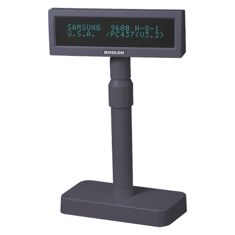BIXOLON BCD1000 Pole Display RS232 Dark Grey - EasyPOS