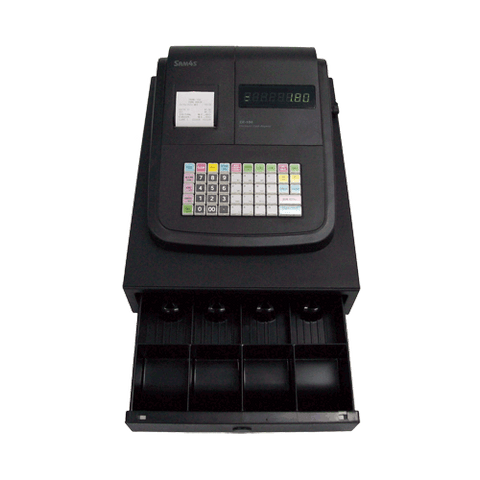SAM4S ER-180U Basic Cash Register Thermal Printer Small Drawer - Easypos Point of Sale Systems