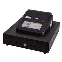 SAM4S ER-180UDL Basic Cash Register Thermal Printer Large Drawer - Easypos Point of Sale Systems