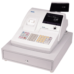 SAM4S ER-380 Cash Register Light Grey - Easypos Point of Sale Systems