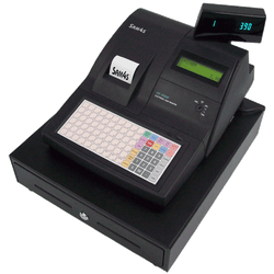 SAM4S ER-390M Cash Register Black - Easypos Point of Sale Systems