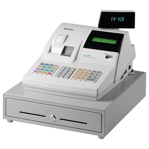 SAM4S ER-420M Cash Register - Easypos Point of Sale Systems