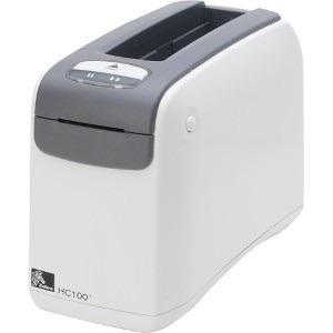 Zebra HC100 WRISTBAND PRINTER DIRECT THERMAL AUSTRALIAN CORD ZPL II XML  SERIAL USB INT WIRELESS PLUS