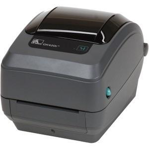 Zebra GK420T THERMAL TRANSFER USB ETHERNET 4IN BARCODE LABEL PRINTER - EasyPOS