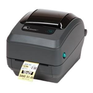Zebra GK420T 4IN DESKTOP THERMAL TRANSFER PRINTER 203 DPI UK/AU/JP CORDS EPL ZPLII USB SERIAL CENTRONICS PARALLEL