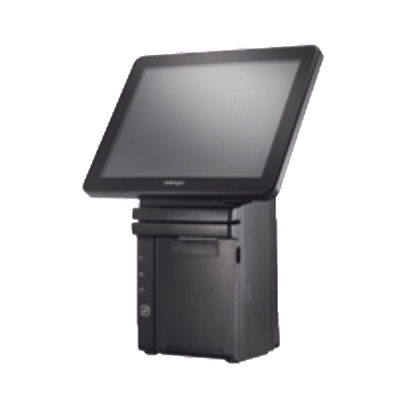 "POSIFLEX HS-2512 AiO 12.1"" Touch Terminal 4G/64G SSD/FP/WIN7 32b - Easypos Point of Sale Systems"