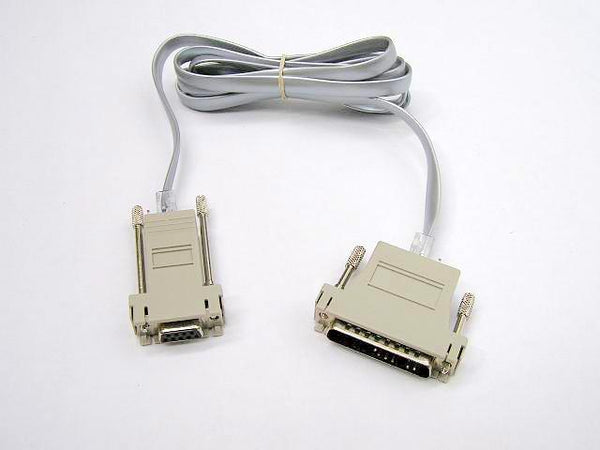 Printer Cable RS232 DB09 PC RJ45 DB25 Printer - Easypos Point of Sale Systems