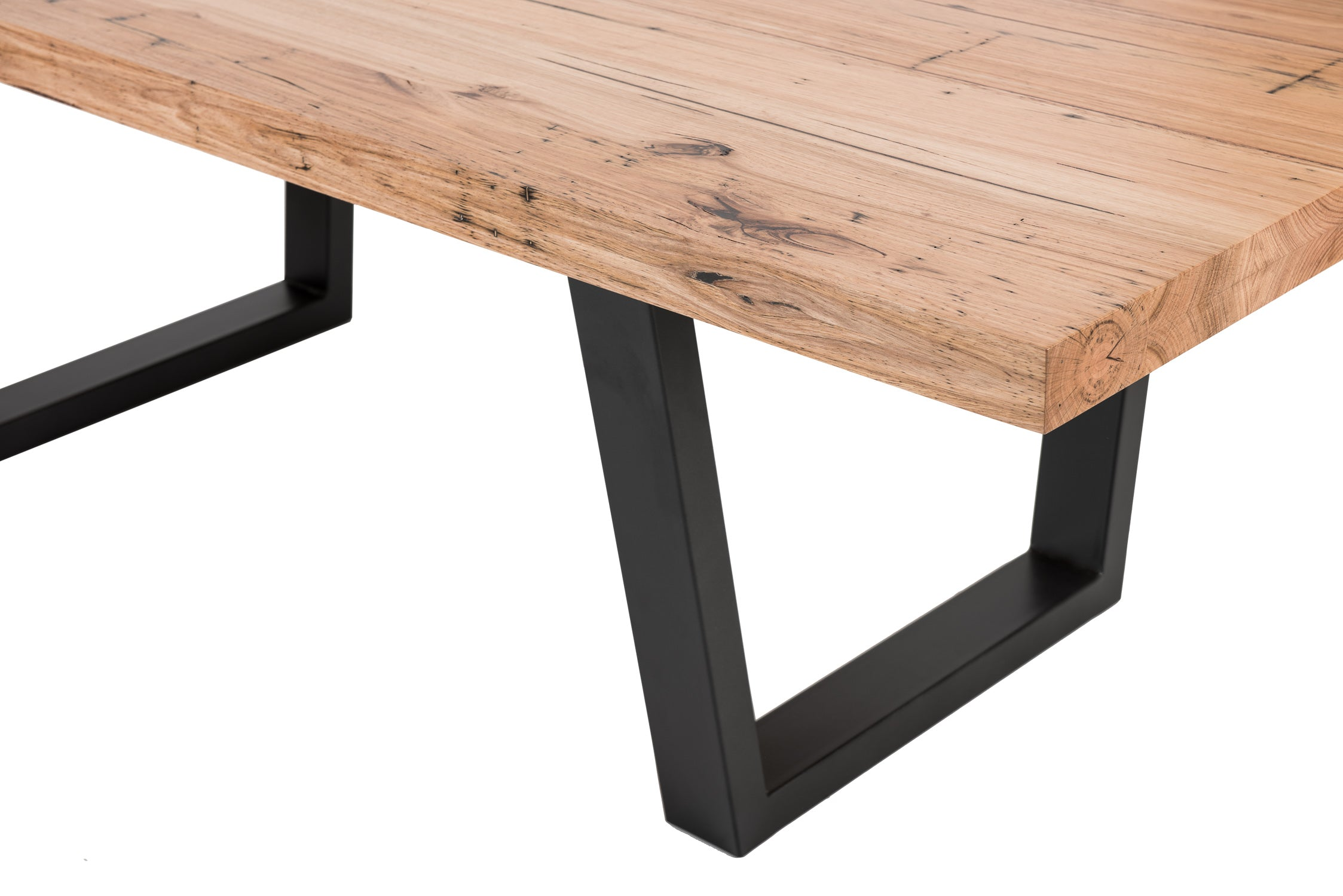 Que Table 3 - with Tapered Iron Base (100x50)