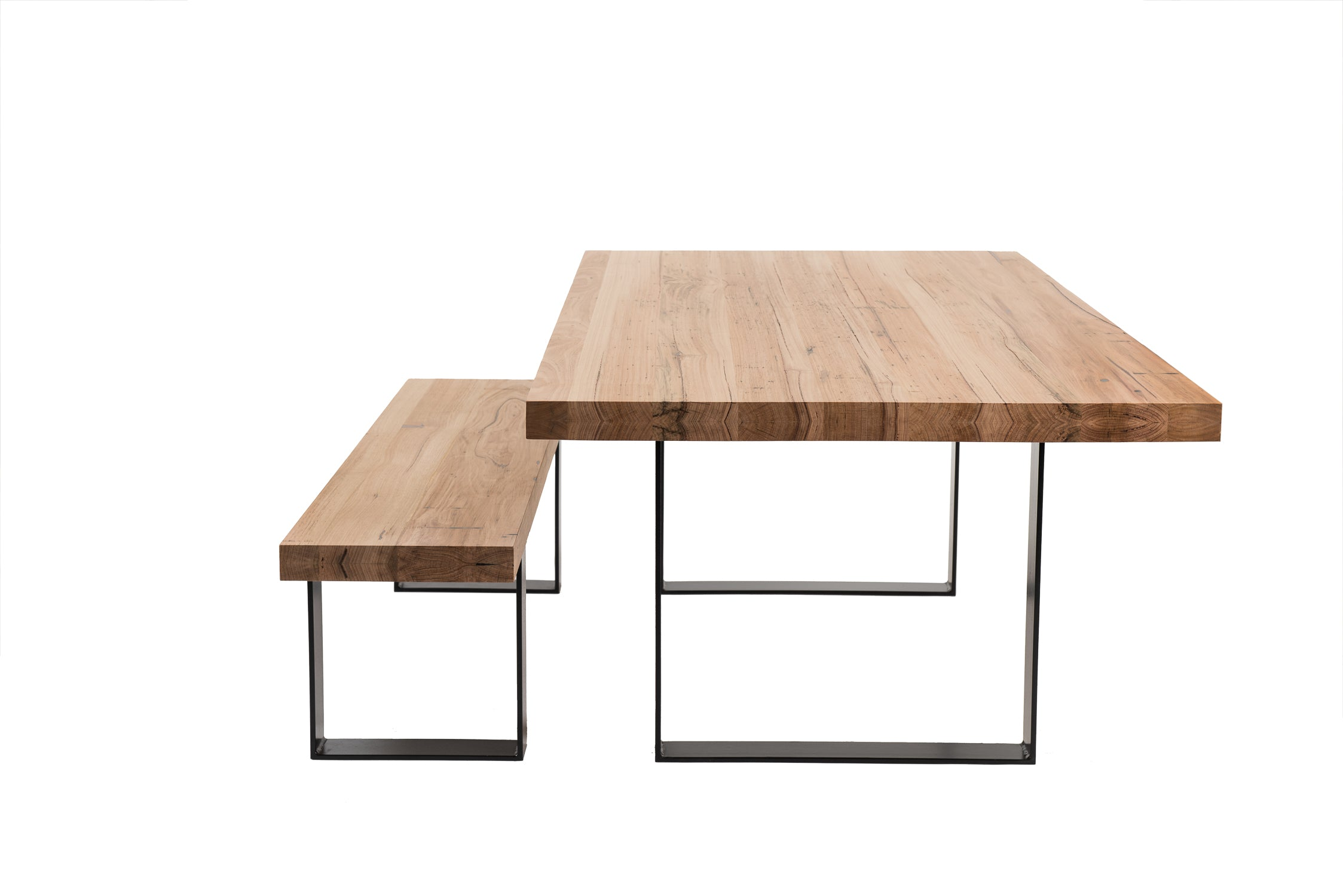 Que Table 4 - with U-Iron Base (100x10)