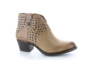 Lyard genuine leather boot urban western style color arena