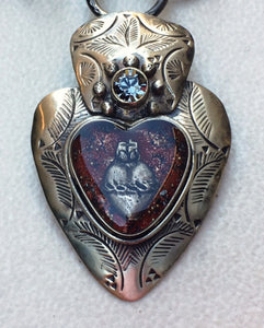 Heart Pendant by Barbosa