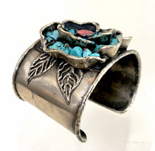 Turquoise Chips Cuff