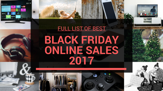 Best Black Friday Online Deals 2017