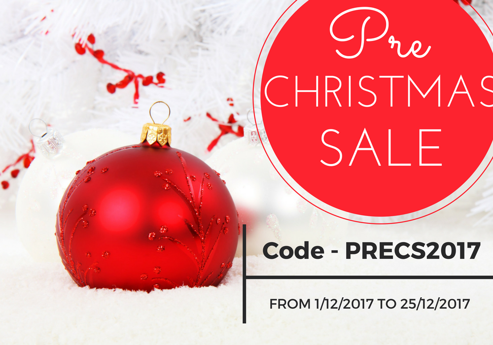 Early Christmas Sale 2017