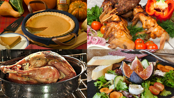Thanksgiving food - dinner menu, recipes and thanksgiving turkey dishes