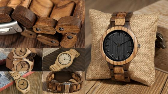 Black Friday Online Deals on Wooden Watches at Store Unisex