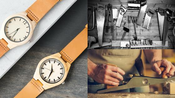 How to make a wooden watch