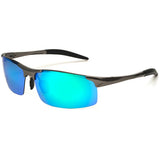 Polarized Cricket Sunglasses in Mirrored Lens