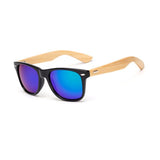 Mirrored Wooden Wayfarer