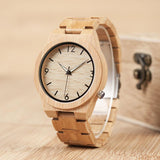 Store Unisex D-27 bamboo wooden watch