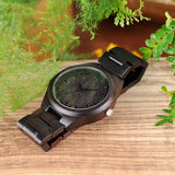Sandalwood Wrist Watch WH-05