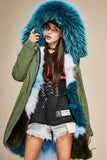 Fur Parka FWW172 | Military Green