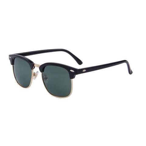 Classic in Gold Clubmaster Sunglasses