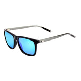 Space Grey Aluminum Frame Finish wayfarer sunglasses
